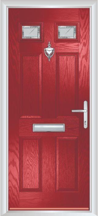 Composite Door - Alnwick - Classic Collection - Red