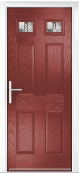 Composite Door - Alnwick - Classic Collection - Marsala