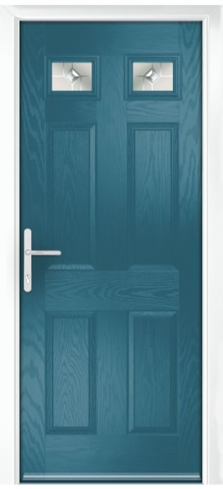 Composite Door - Alnwick - Classic Collection - Victory Blue