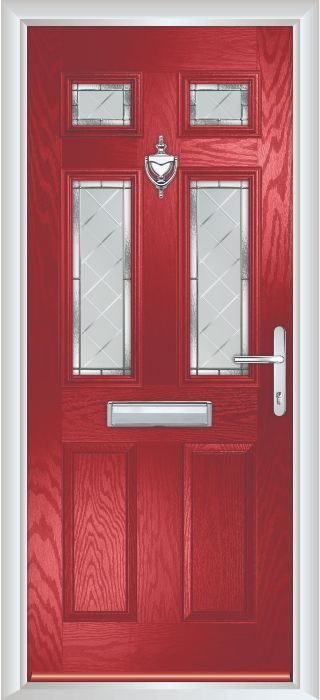 Composite Door - Arundel - Classic Collection - Red