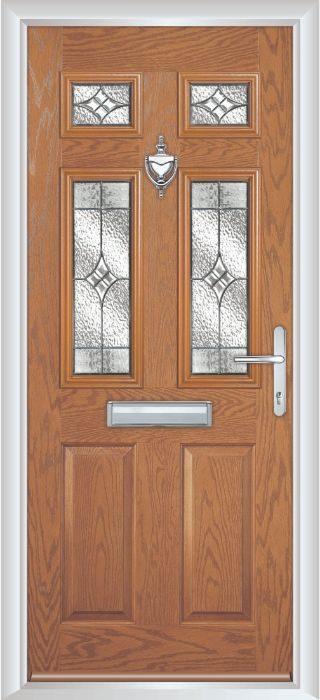 Composite Door - Arundel - Classic Collection - Irish Oak