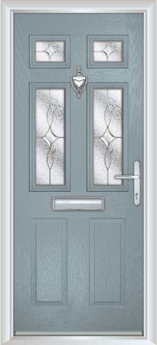 Composite Door - Arundel - Classic Collection - Silver Grey