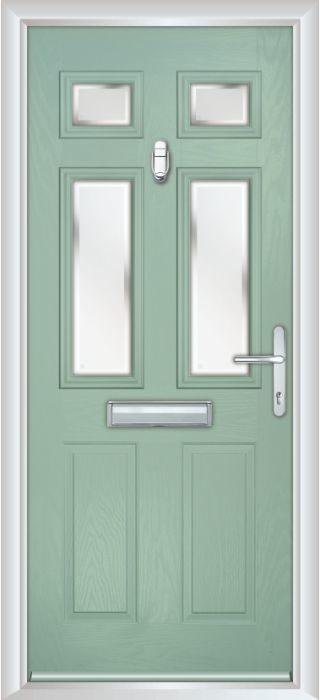 Composite Door - Arundel - Classic Collection - Chartwell Green