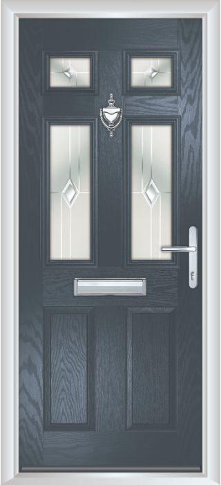 Composite Door - Arundel - Classic Collection - Anthracite Grey