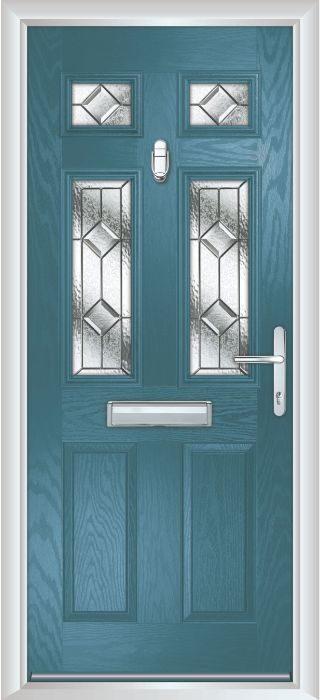Composite Door - Arundel - Classic Collection - Victory Blue