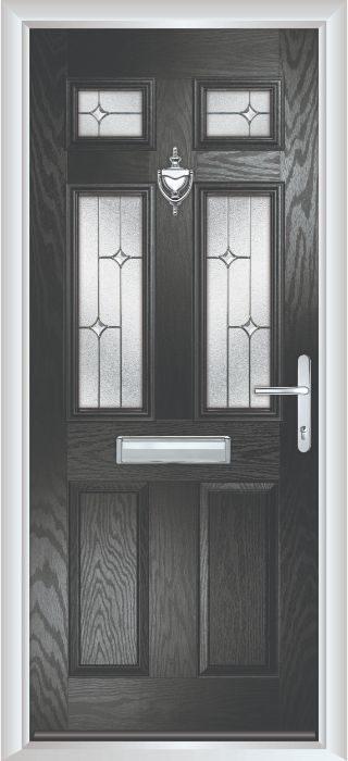 Composite Door - Arundel - Classic Collection - Black