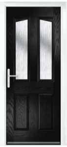 Composite Door - Aydon - Classic Collection - Black