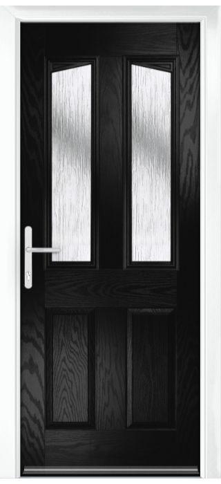 Composite Door - Aydon - Classic Collection - Black
