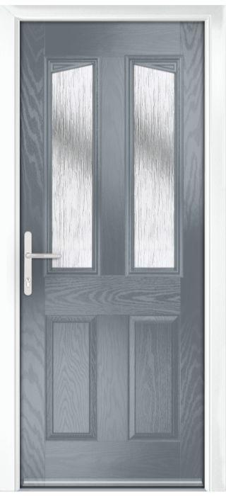 Composite Door - Aydon - Classic Collection - Shadow Grey
