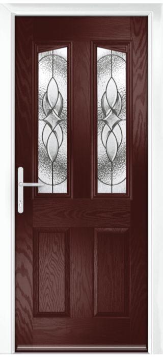 Composite Door - Aydon - Classic Collection - Rosewood