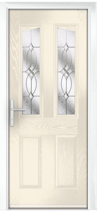 Composite Door - Aydon - Classic Collection - Cream White
