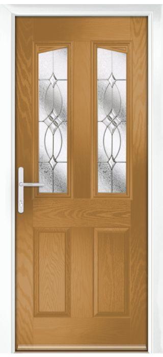 Composite Door - Aydon - Classic Collection - Irish Oak