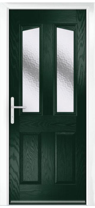 Composite Door - Aydon - Classic Collection - Green