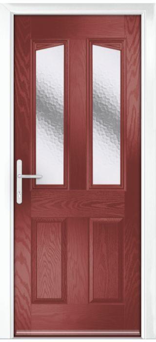 Composite Door - Aydon - Classic Collection - Marsala