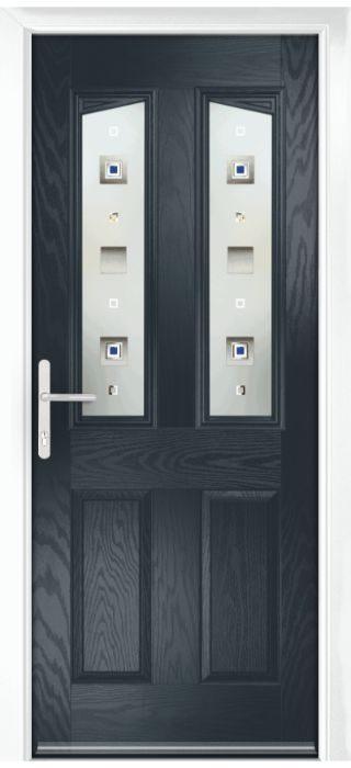 Composite Door - Aydon - Classic Collection - Anthracite Grey