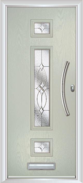 Composite Door - Baird - Contemporary Collection - Clay
