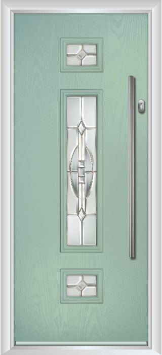 Composite Door - Baird - Contemporary Collection - Chartwell Green