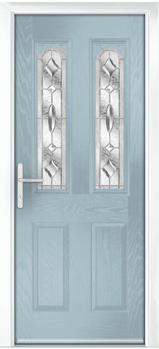 Composite Door - Bamburgh - Classic Collection - Wedgewood