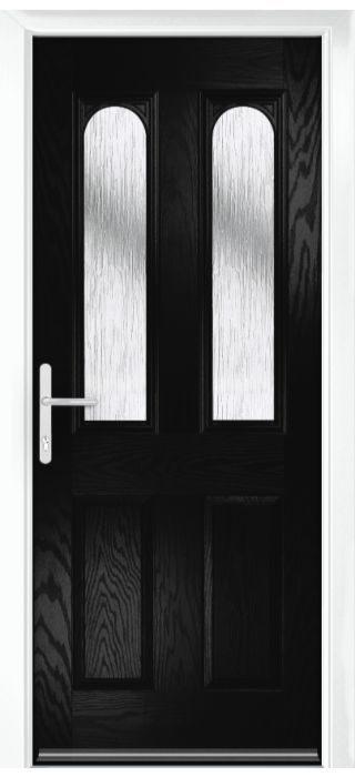 Composite Door - Bamburgh - Classic Collection - Black