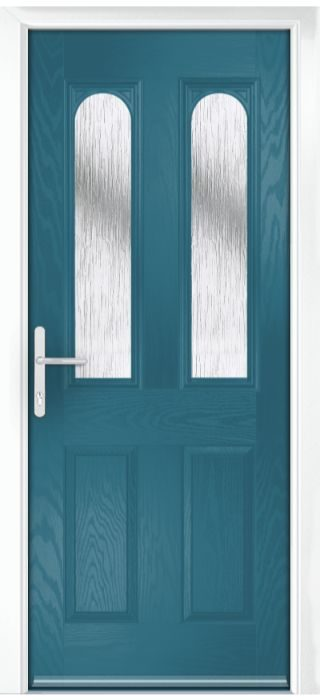 Composite Door - Bamburgh - Classic Collection - Victory Blue