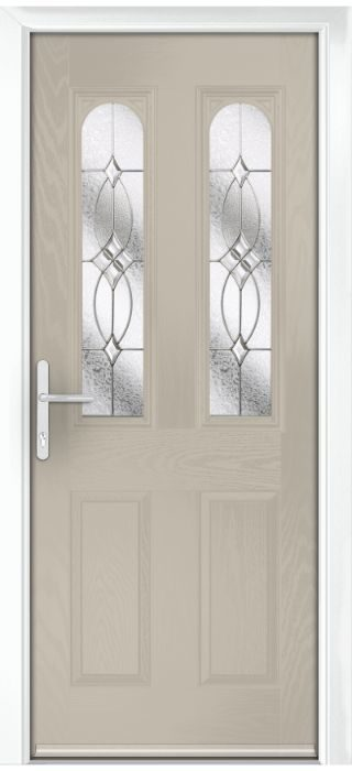 Composite Door - Bamburgh - Classic Collection - Clay