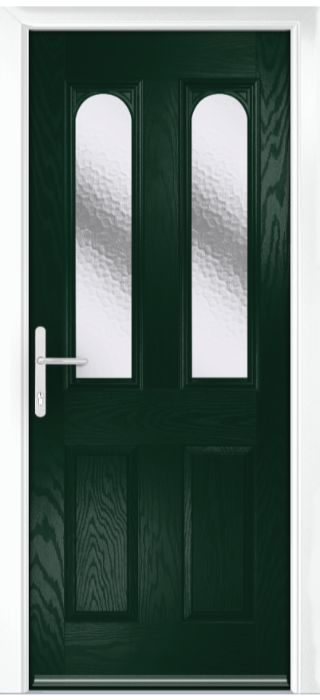 Composite Door - Bamburgh - Classic Collection - Green