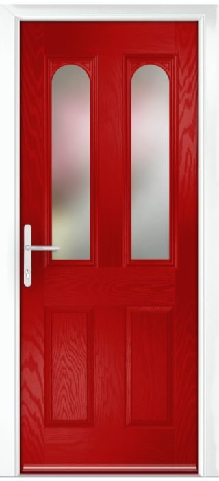 Composite Door - Bamburgh - Classic Collection - Red