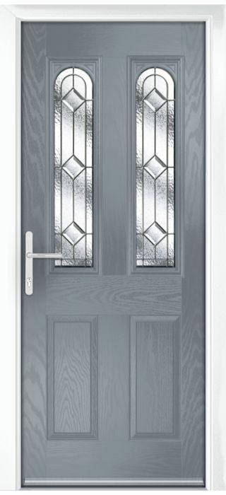 Composite Door - Bamburgh - Classic Collection - Shadow Grey