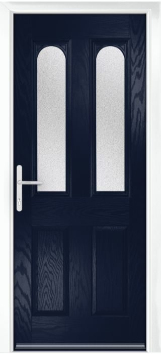 Composite Door - Bamburgh - Classic Collection - Blue