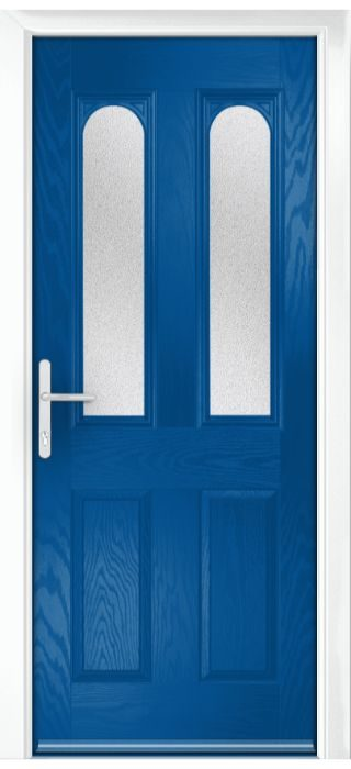 Composite Door - Bamburgh - Classic Collection - French Blue