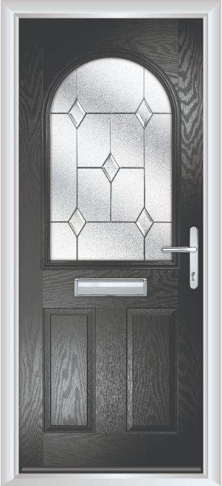 Composite Door - Barnard - Classic Collection - Black