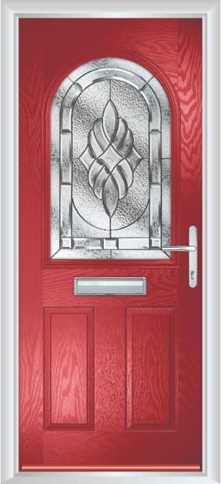 Composite Door - Barnard - Classic Collection - Red