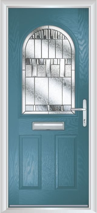 Composite Door - Barnard - Classic Collection - Victory Blue
