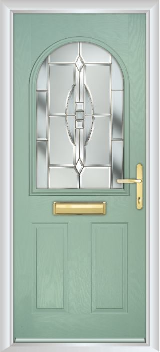 Composite Door - Barnard - Classic Collection - Chartwell Green