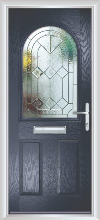 Composite Door - Barnard - Classic Collection - Blue