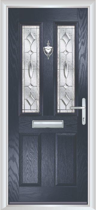 Bowater Doors - Composite Door - Bede - Anthracite Grey