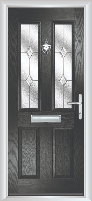 Bowater Doors - Composite Door - Bede - Black Door