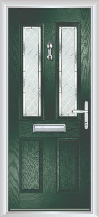 Bowater Doors - Composite Door - Bede - Green