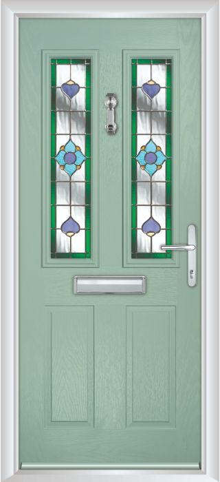 Bowater Doors - Composite Door - Bede - Chartwell Green