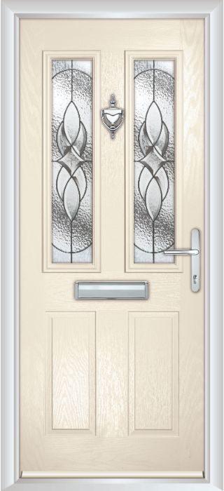 Composite Door - Bede - Cream White