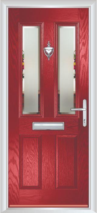 Composite Door - Bede - Red Door