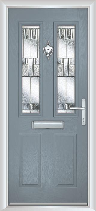 Composite Door - Bede - Shadow Grey Door