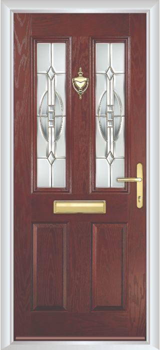 Composite Door - Bede - Rosewood Door