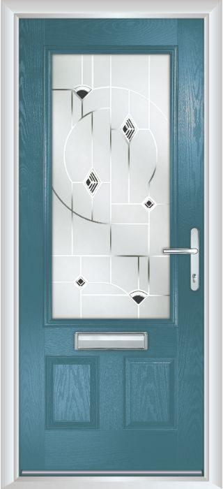 Composite Door - Berkeley - Classic Collection - Victory Blue