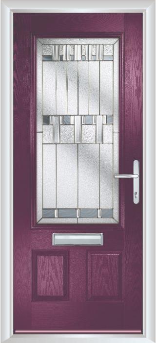 Composite Door - Berkeley - Classic Collection - Very Berry