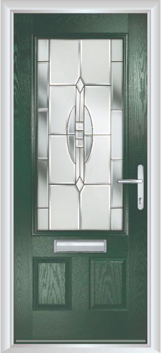 Composite Door - Berkeley - Classic Collection - Green