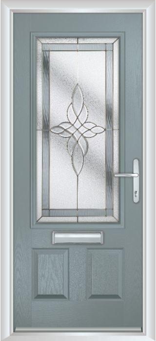 Composite Door - Berkeley - Classic Collection - Silver Grey