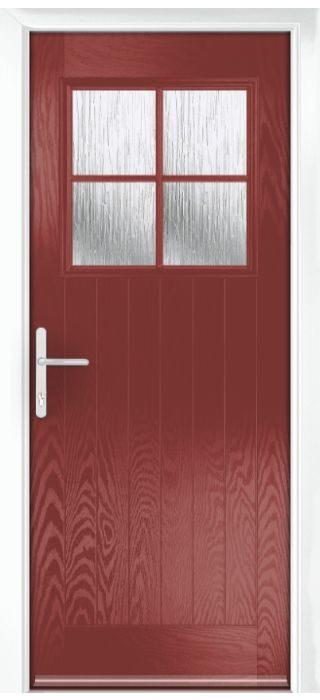 Composite Door - Birch - Rural Collection - Marsala