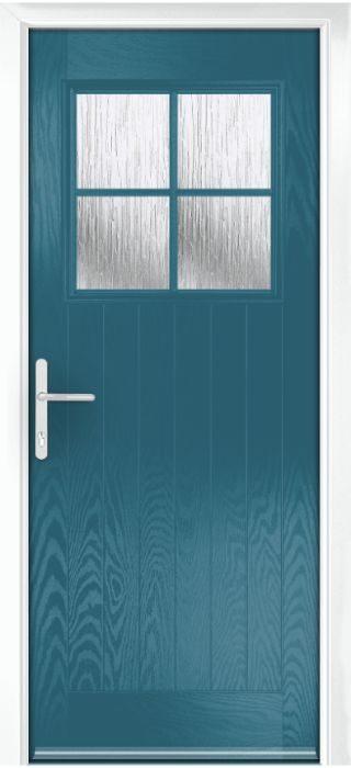 Composite Door - Birch - Rural Collection - Victory Blue