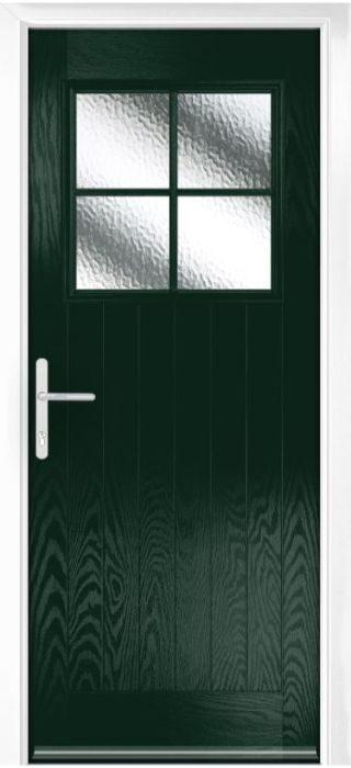 Composite Door - Birch - Rural Collection - Green